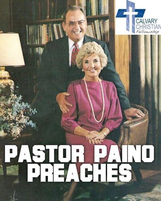 Paul E. Paino preaches